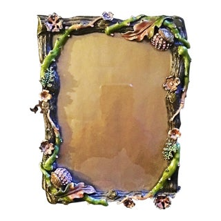 Rare Acorns and Flowers Jay Strongwater Frame