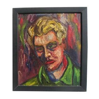 Ruffner Expressionist Portrait 1940 CA