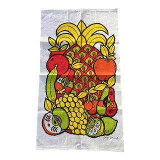 Georges Briard Screen Print Wall Hanging