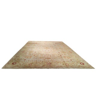 Traditional Hand Made Knotted Rug - 12x18