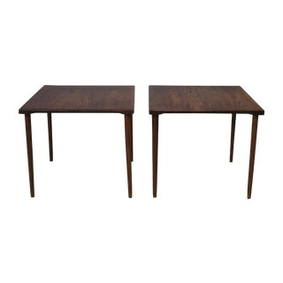 Peter Hvidt Stacking Side Tables - Pair