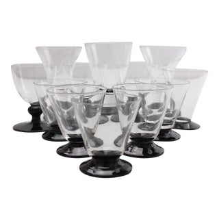 Black Foot Petite Stemware - Set of 12