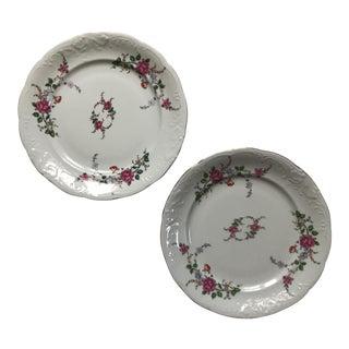 Royal Kent Floral Dinner Plates - a Pair