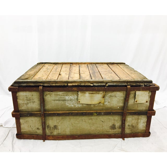 Industrial Rustic Factory Cart Coffee Table: Rustic Wood & Metal Industrial Cart Coffee Table
