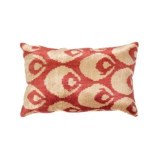 Turkish Silk Velvet Ikat Pillow