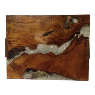 Hickory Wood Serving Tray