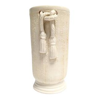 Vintage Camark Ivory Pottery Vase