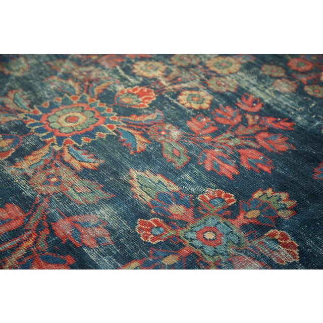 "Vintage Mahal Square Carpet - 6'4"" x 7'7"" - Image 7 of 10"