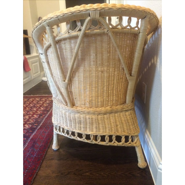 Antique Wicker Chaise Of Vintage Wicker Chaise Lounge Chairish