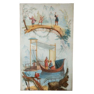 18th Century, Chinoiserie Panel