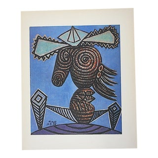 Vintage Picasso Lithograph IV