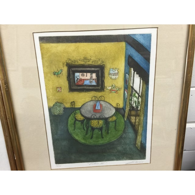 Romero Signed Interior Lithographs - A Pair - Image 5 of 9