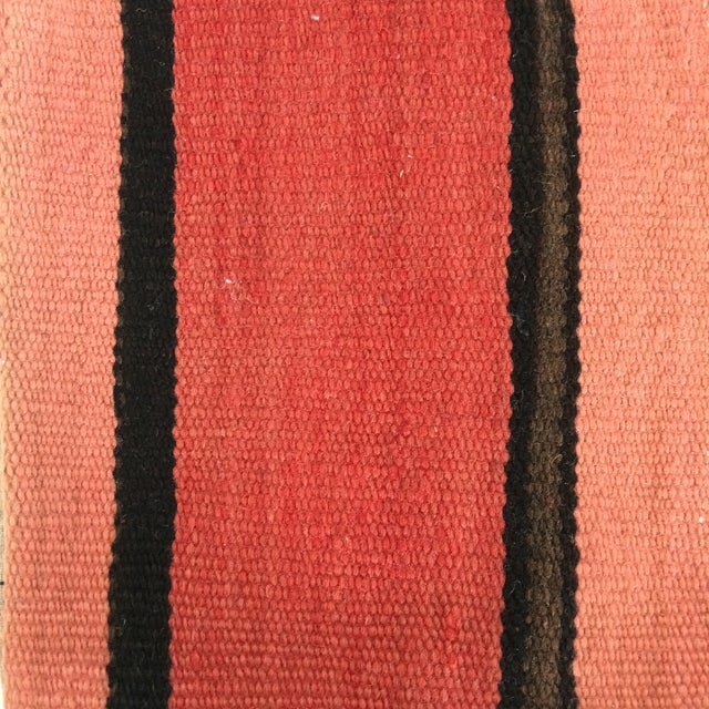 Image of Pink Striped Small Kilim Pillow Cover
