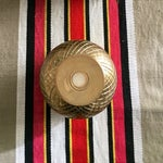 """Image of 7"""" Brass Pineapple Container"""