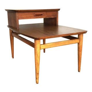 Lane Mid-Century Wood Side Table