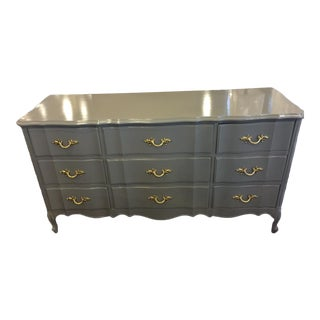 Dixie Lacquered Gold Hardware Dresser