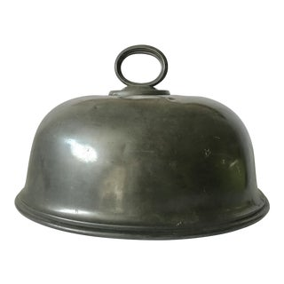 Dixon and Sons Antique Pewter Roast Cover