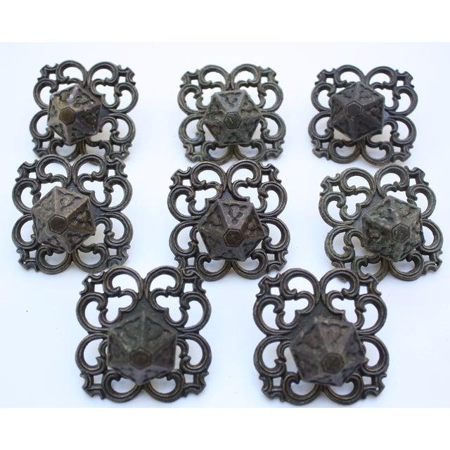 Image of Mid Century Drawer Knobs - Set of 8