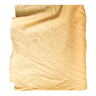 Gold Cornflower Linen Fabric - 4 Yards