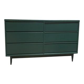 """Macy"" Peacock Green Dresser"