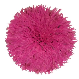 Cameroon Hot Pink Juju Hat