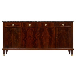 French Antique Directoire Style Mahogany Buffet