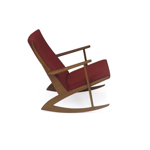 Georg Jensen Mid-Century Danish Rocking Chair - Image 7 of 9
