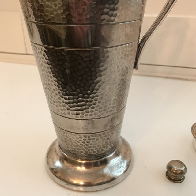 Forbes Silver Co. Art Deco Martini Shaker - Image 10 of 11