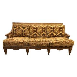 Drexel Heritage Chenille Ikat Sofa
