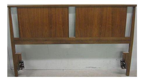 mid century danish queen headboard