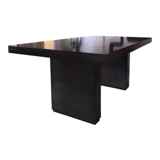 Industrial T Shaped Extension Dining Table