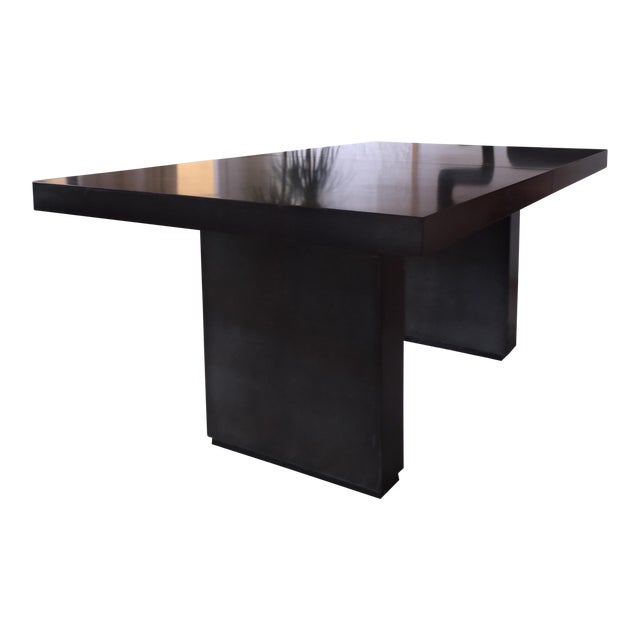 industrial t shaped extension dining table chairish