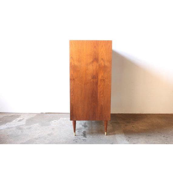 Image of Mid-Century American Walnut Dresser