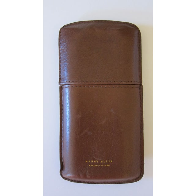 Perry Ellis Leather Cigar Case - Image 2 of 4