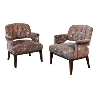Petite Lounge Chairs by Maurice Bailey for Monteverdi Young - a Pair