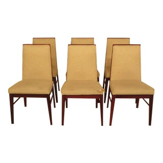 Dyrlund Solid Rosewood Mid-Century Modern Dining Chairs - Set of 6