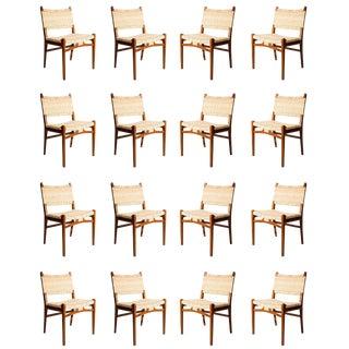 Set of 16 Hans Wegner CH31 Dining Chairs