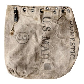 US Mail carrier bag circa 1964