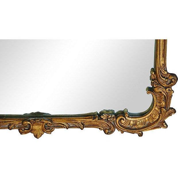 Antique French Gilt & Gesso Mirror - Image 3 of 7