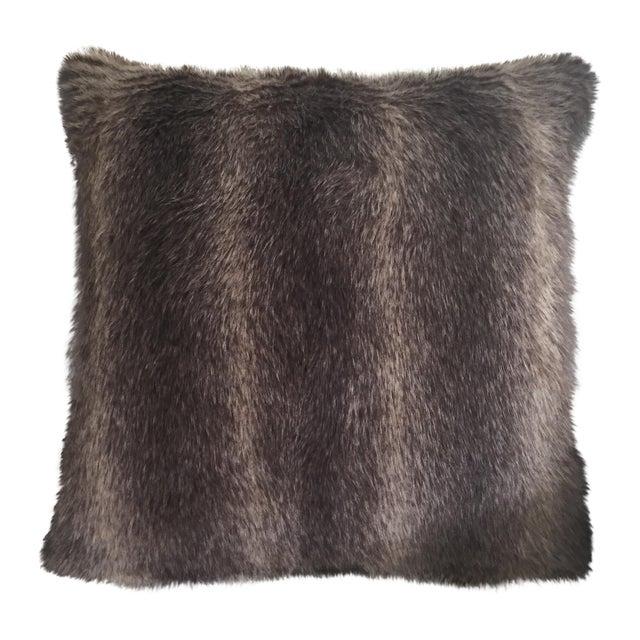 Faux Fur Pillow - Image 1 of 3