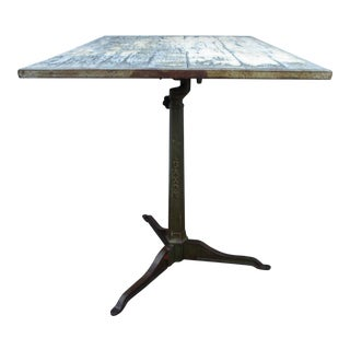 Saxon Iron Drafting Table