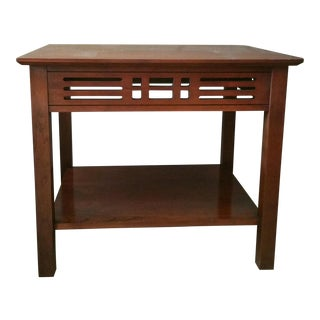 Vintage Harden Furniture Solid Cherry Accent Table