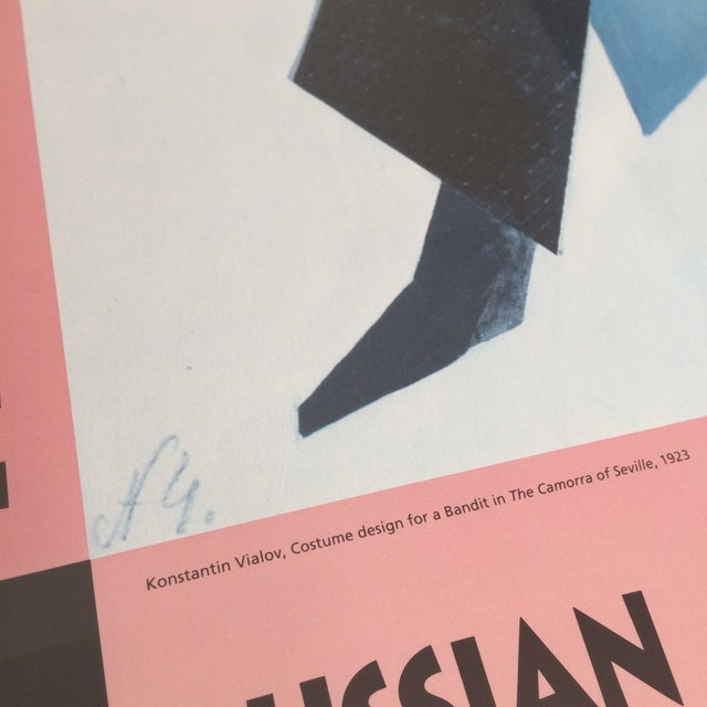Image of Vintage Russian Avant-Garde Exhibit Poster
