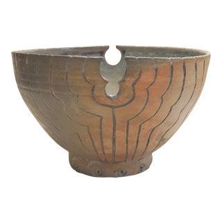 """Peace Chalice"" Original Studio Pottery Bowl"