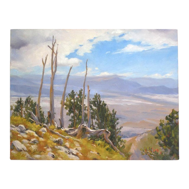 Ruby Mountain Valley Painting - Image 1 of 5