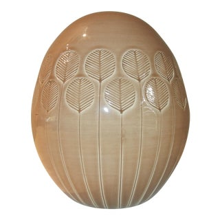 Italian Glazed Pottery Sculpture by Nora Fenton