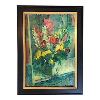 Paul Gatusso Signed Still Life Painting