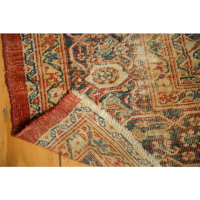 "Antique Mahal Square Carpet - 9'11"" x 9'8"" - Image 9 of 10"