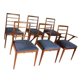 Mid-Century Teak Dining Chairs - Set of 6