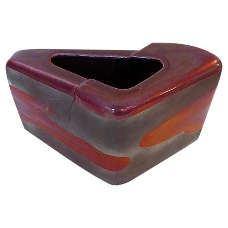 Sculptural Art Pottery Vase - Image 1 of 6
